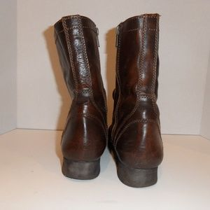 e2ab4deb90b Steve Madden Shoes - Troopa Combat Boots Brown Leather Distressed